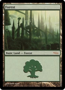 Magic the Gathering Arena Promo Card Forest [Arena 2006]