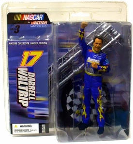 McFarlane Toys NASCAR Series 3 Mature Collector Limited Edition Action Figure Darrell Waltrip