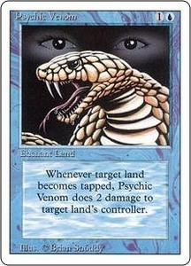 Magic the Gathering Revised Edition Single Card Common Psychic Venom