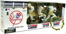 McFarlane Toys MLB Sports Picks Exclusive Action Figure 3-Pack Jason Giambi, Derek Jeter & Bobby Abreu (New York Yankees)
