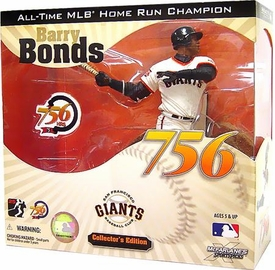 McFarlane Toys MLB Sports Picks Collector's Edition Action Figure 756th Home Run Barry Bonds