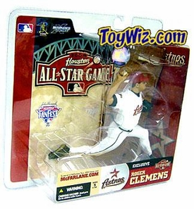McFarlane Toys MLB Sports Picks Houston Fanfest Event Exclusive Figure Roger Clemens Damaged Package, Mint Contents!