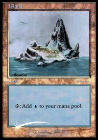 Magic the Gathering Arena Promo Card Island [Arena 2001]