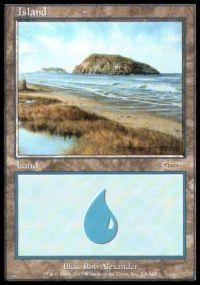 Magic the Gathering Arena Promo Card Island [Arena 2003]