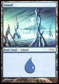 Magic the Gathering Arena Promo Card Island [Arena 2004]