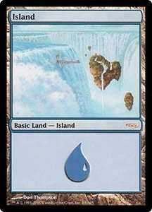 Magic the Gathering Arena Promo Card Island [Arena 2005]