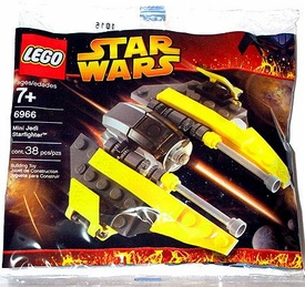 LEGO Star Wars Set #6966 Jedi Starfighter [Bagged]