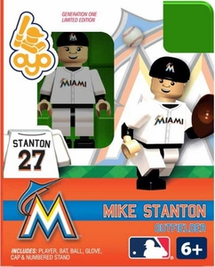 OYO Baseball MLB Building Brick Minifigure Mike Stanton [Miami Marlins]