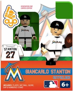 OYO Baseball MLB Building Brick Minifigure Giancarlo Stanton [Miami Marlins]
