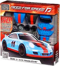 Need For Speed Mega Bloks Set #95709 Porsche GT3 RS