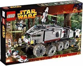 LEGO Star Wars Set #7261 Clone Turbo Tank