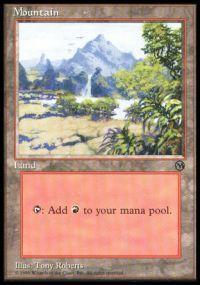 Magic the Gathering Arena Promo Card Mountain [Arena 1996]