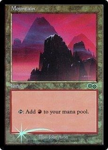 Magic the Gathering Arena Promo Card Mountain [Arena 1999]