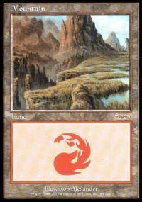 Magic the Gathering Arena Promo Card Mountain [Arena 2003]