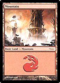 Magic the Gathering Arena Promo Card Mountain [Arena 2004]