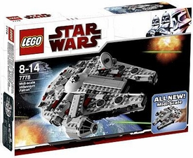 LEGO Star Wars Exclusive Set #7778 Midi-Scale Millennium Falcon