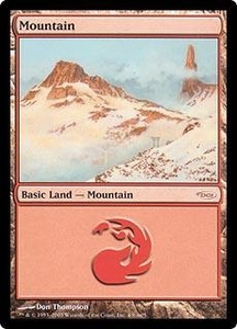 Magic the Gathering Arena Promo Card Mountain [Arena 2005]