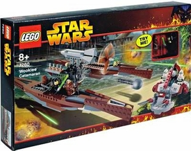 LEGO Star Wars Set #7260 Wookie Catamaran Damaged Box, Mint Contents!