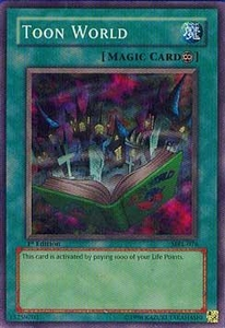 YuGiOh Magic Ruler Single Card Super Rare MRL-076 Toon World