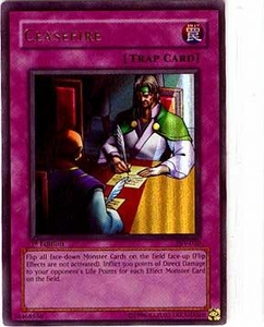 YuGiOh Pharaoh's Servant Single Card Ultra Rare PSV-030 Ceasefire