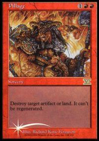 Magic the Gathering Arena Promo Card Pillage [Arena 2000]