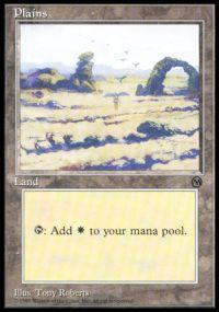 Magic the Gathering Arena Promo Card Plains [Arena 1996]