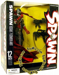 McFarlane Toys Spawn Deluxe 12 Inch Action Figure Spawn Issue 7 Cover Art [Commando Spawn]