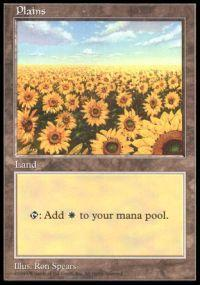 Magic the Gathering APAC & Euro Lands Promo Card Plains [APAC Set 1]