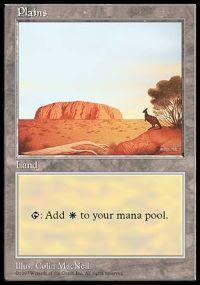 Magic the Gathering APAC & Euro Lands Promo Card Plains [APAC Set 2]
