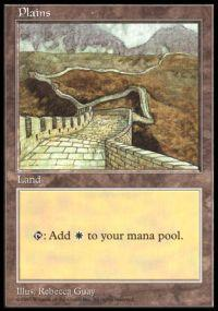 Magic the Gathering APAC & Euro Lands Promo Card Plains [APAC Set 3]