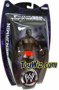WWE Jakks Pacific Wrestling Action Figure Ruthless Aggression Series 14 Shelton Benjamin