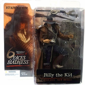 McFarlane Toys Monsters Series 3 Faces of Madness Action Figure Billy the Kid