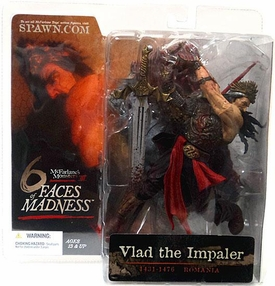 McFarlane Toys Monsters Series 3 Faces of Madness Action Figure Vlad the Impaler