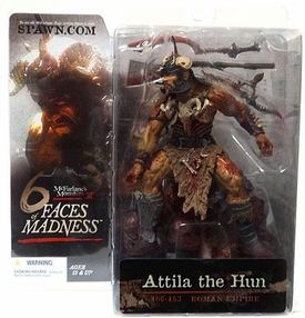McFarlane Toys Monsters Series 3 Faces of Madness Action Figure Attila the Hun