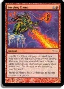 Magic the Gathering Arena Promo Card Surging Flame [Arena 2006]
