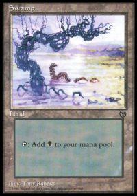 Magic the Gathering Arena Promo Card Swamp [Arena 1996]