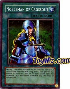 YuGiOh Pharaoh's Servant Single Card Super Rare PSV-034 Nobleman of Crossout