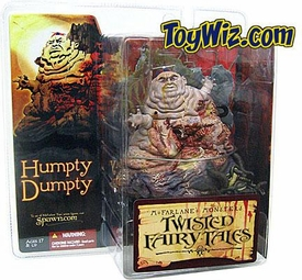McFarlane Toys Monsters Series 4 Twisted Fairy Tales Action Figure Humpty Dumpty