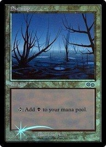 Magic the Gathering Arena Promo Card Swamp [Arena 1999]