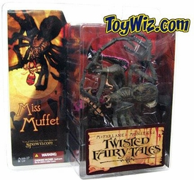 McFarlane Toys Monsters Series 4 Twisted Fairy Tales Action Figure Little Miss Muffet