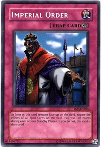 YuGiOh Pharaoh's Servant Single Card Secret Rare PSV-104 Imperial Order