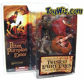 McFarlane Toys Monsters Series 4 Twisted Fairy Tales Action Figure Peter Pumpkin Eater