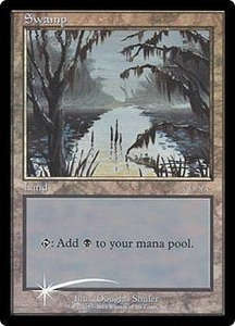 Magic the Gathering Arena Promo Card Swamp [Arena 2001]