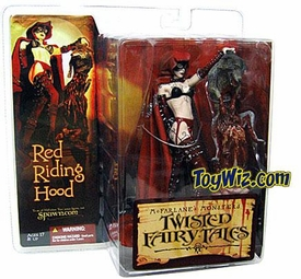 McFarlane Toys Monsters Series 4 Twisted Fairy Tales Action Figure Red Riding Hood