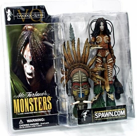McFarlane Monsters Series 1 Action Figure Voodoo Queen [Clean Package]