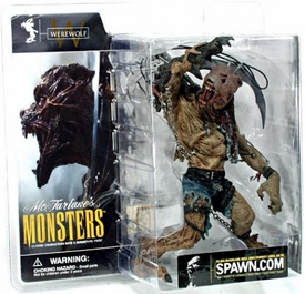 McFarlane Monsters Series 1 Action Figure Werewolf [Clean Package]