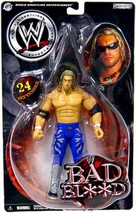 WWE Jakks Pacific Wrestling Bad Blood Pay Per View Action Figure Edge