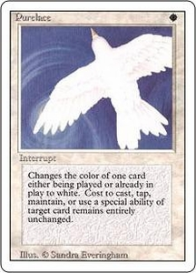 Magic the Gathering Revised Edition Single Card Rare Purelace