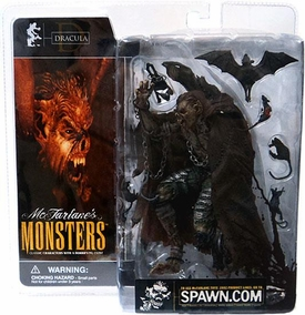 McFarlane Monsters Series 1 Action Figure Dracula [Blood Splattered Package Variant]