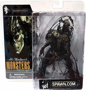 McFarlane Monsters Series 1 Action Figure Frankenstein [Blood Splattered Package Variant]